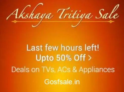 Flipkart Akshaya Tritiya Sale April Offers 2019 April