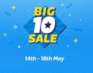 ( Last Day )FlipKart Big 10 Sale : 14th to 18th May  2017 | Best Crazy Deals – 14th May Offers