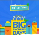 FlipKart Big Shopping Days : 18th to 21st Dec 2016 – Best Crazy Deals – Upto 70% off