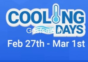 FlipKart Cooling Days – Exciting offers on Large Appliances