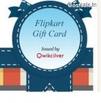 FlipKart Gift Cards 5% Cashback on Rs. 500 – FlipKart