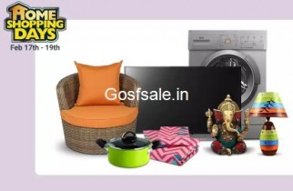 Home Shopping Days [17-19 Feb]: Upto 80% Off on Home Decor & Furnishing + More Offers