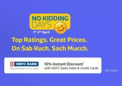 FlipKart No Kidding Days – 1st April Best Offers