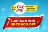 FlipKart Pay Day – Upto 60% + Extra 10% Off