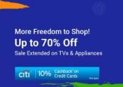 FlipKart TVs & Appliances Independence Day Sale