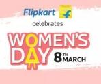 FlipKart Women's Day 2018 : FlipKart Women's Day Offers