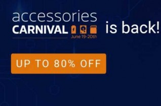Flipkart Accessories Carnival (19-20 June) | 20% Cashback with PhonePe