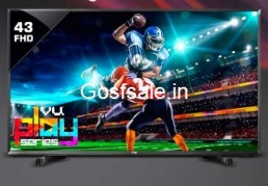 Flipkart Best Deals on Televisions : TVs upto 61% off + 5% off + upto Rs. 20000 off (Exchange) – FlipKart