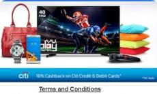 Flipkart CitiBank Offer : 10% Cashback on Flipkart [Citibank Cards]
