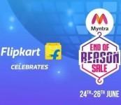 Flipkart End Of Reason Sale (June 24th – June 26th) – Best offers on Fashion