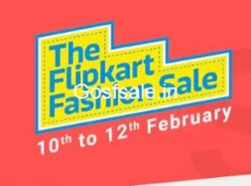 Flipkart Fashion Sale (10-12 Feb) | 10% Off on Axis Cards | Upto 80% Off on Lifestyle