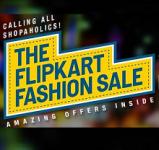 Flipkart Fashion Sale – 30% – 70% Off on Biggest Fashion Brands