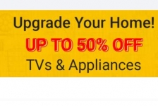 Flipkart March Tv Sale : Best of TVs and Appliances