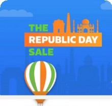 Flipkart Republic Day Sale 2017 ( 20-26 Jan Sale ) – Flipkart 26th Jan Sale | 10% Cashback on CITI Credit cards