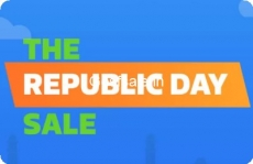 Flipkart Republic Day Sale 24th – 26th Jan : Flipkart 26th January Sale : 26th January Sale on Flipkart