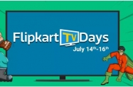 Flipkart TV Days : 14 – 16 July – 10% Instant Discount