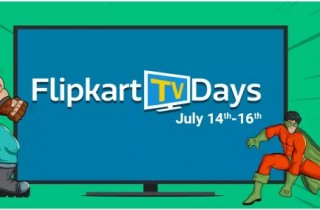 Flipkart TV Days : 14 – 16 July – 10% Instant Discount