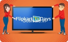 Flipkart TV days [11-12 Jan]  :  Extra 10% Off on all Credit Cards | Up to ₹25,000 Off on Exchange + Other Offers