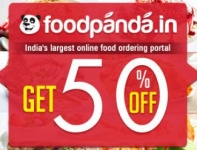 FoodPanda 50 Off Coupon : 50% Off Coupon + 1% Extra Off