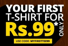 FREECULTR Rs.99 Tee : FREECULTR : GET YOUR FIRST TEE AT JUST RS.99