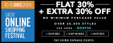 GOSF Night Sale – Flat 30% + Extra 30% off – Jabong