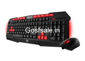 Gamdias Gaming Keyboard and Mouse ARES-GKC100 Rs. 911 – Amazon