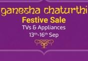 Ganesh Chaturthi Sale 2018 : Best Deals on Tv & Appliances Sale – Upto 70% off + Extra 10% off