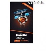 Gillette Flexball Pro Glide Gift Pack -Flexball Razor with 4 Flexball Cartridge @ Rs.749
