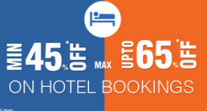 Goibibo Republic Day Offer : Upto 65% off on hotels