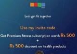 Goqii Referral Code – Get 500 GOQii Cash + 1 Month Free Coaching – Goqii Refer Code