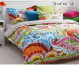 Home Candy Cotton Double Bedsheet with 2 Pillow Covers Rs. 449 – Amazon