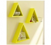 Home Sparkle Sh734 Wall Shelf, Set of 3 (Lacquer Finish, Yellow)  @ Rs.512 – Amazon India