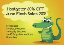 Hostgator 60 Off Coupon – Flat 60% Off on Hostgator : June 2015 Flash Sales