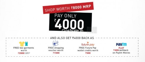 Central Free Shopping Offer : Central 3 Days Free Shopping : 6th – 8th Jan 2017