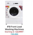 IFB 6 kg Fully Automatic Front Load Washing Machine Rs.20490  : Flipkart Big Diwali Sale