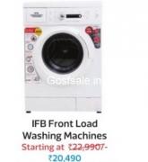 IFB 6 kg Fully Automatic Front Load Washing Machine Rs.20490  : Flipkart Big Diwali Sale