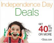 Amazon India Independence Day Sale : Amazon Independence Day Offers 2015