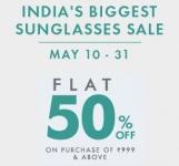 India's Biggest Sunglasses Sale – May 10 – 31 – Lenskart