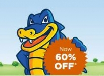 Hostgator Flat 60% Off Coupon : Flat 60% Off on All Hosting Plans