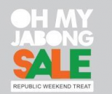 Jabong Republic Weekend Treat – Flat 70% off on Select Catalogue