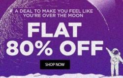 Jabong Mystery Deal : Flat 80% Off On Men's & Women's Clothing.