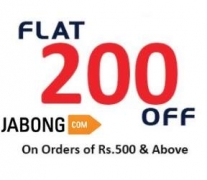 Jabong Rs. 200 off on Purchase of Rs. 500  [Working on Discounted Products] – Jabong