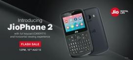 Jio Phone 2 Flash Sale – Jio Phone 2 Booking – How to Book Jio Phone 2 – 16th August Sale