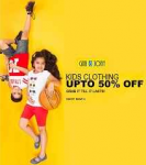 Kids Clothing & Footwear 50% off or more from Rs. 99 – Amazon