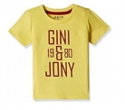 Kids Clothing Offer : 50% off or more on Gini & Jony from Rs. 99 – Amazon