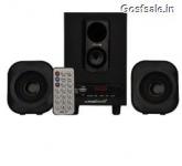Krisons KR2.1  2.1 Speakers Black @ Rs.999 : Snapdeal