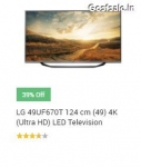 39% off on LG 49UF670T 122.5 cm (49 inches) Ultra HD LED TV @ Rs.62999 – Amazon & Snapdeal