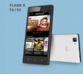 LYF FLAME 8 Flipkart Offer : LYF FLAME 8 with JIO Preview Offer @ Rs.4199 – Flipkart