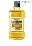 Listerine Original Mouthwash 500ml Rs. 100 – Amazon