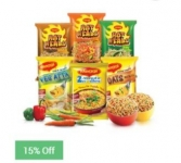 Maggi Noodles Combo Pack of 24 + Bowls Pack of 2 Rs. 349 – SnapDeal
